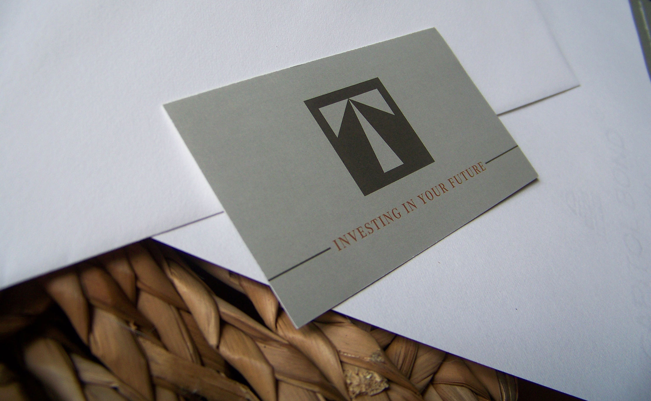 Thorsen Wealth Management Branding Business Card Design by Just Make Things