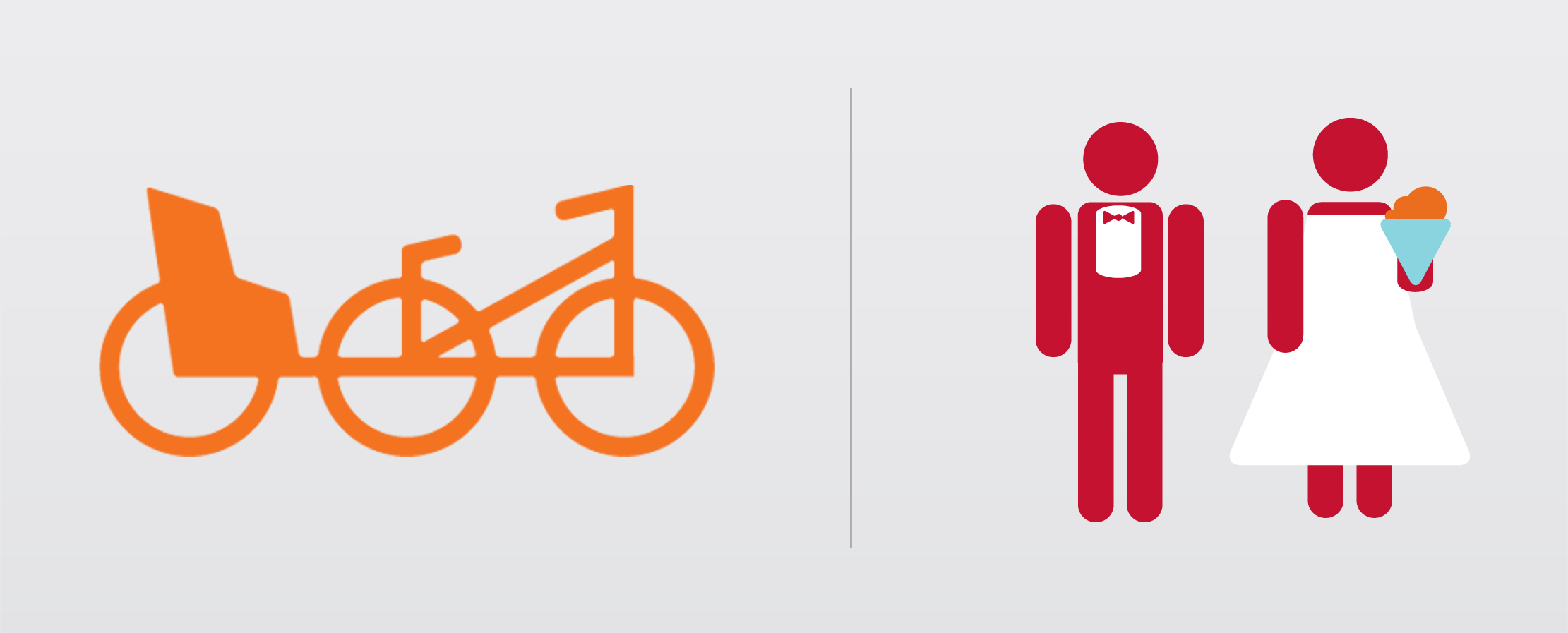 Pedicab of St. Augustine Brand Illustrations by Just Make Things