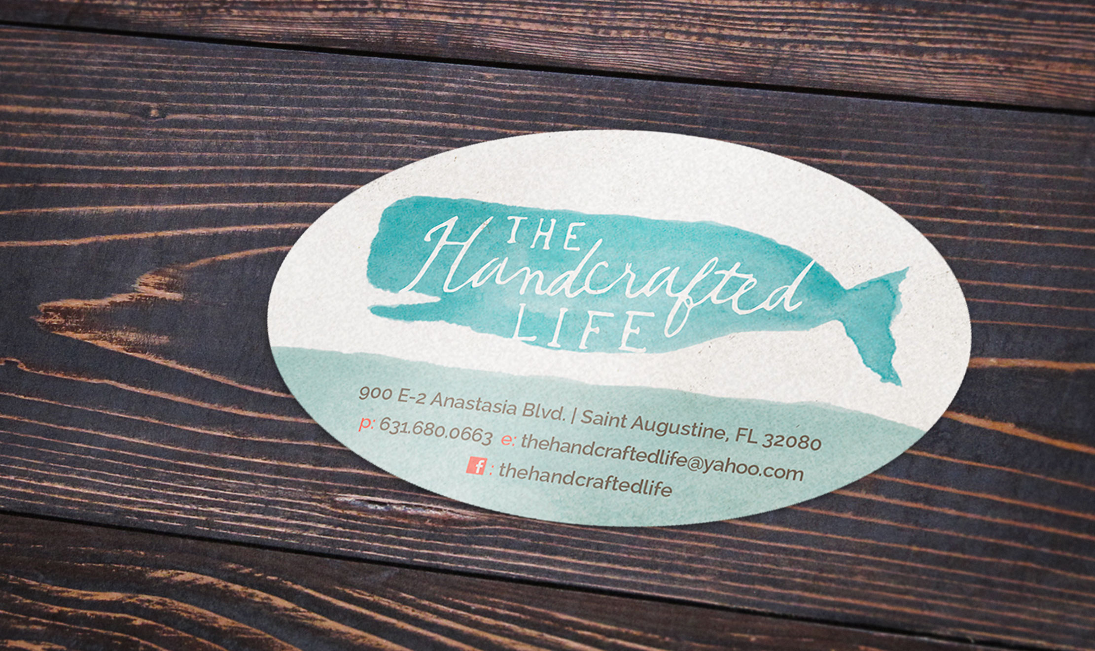 The Handcrafted Life Sticker Branding by Just Make Things