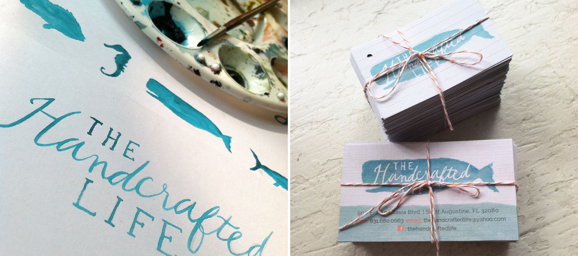 The Handcrafted Life Branding Process by Just Make Things