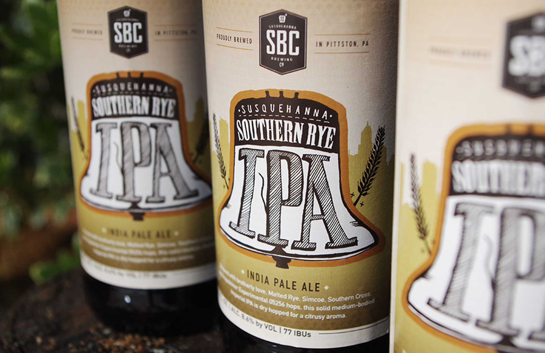Susquehanna Breweing Co. Southern Rye IPA Brand by Just Make Things