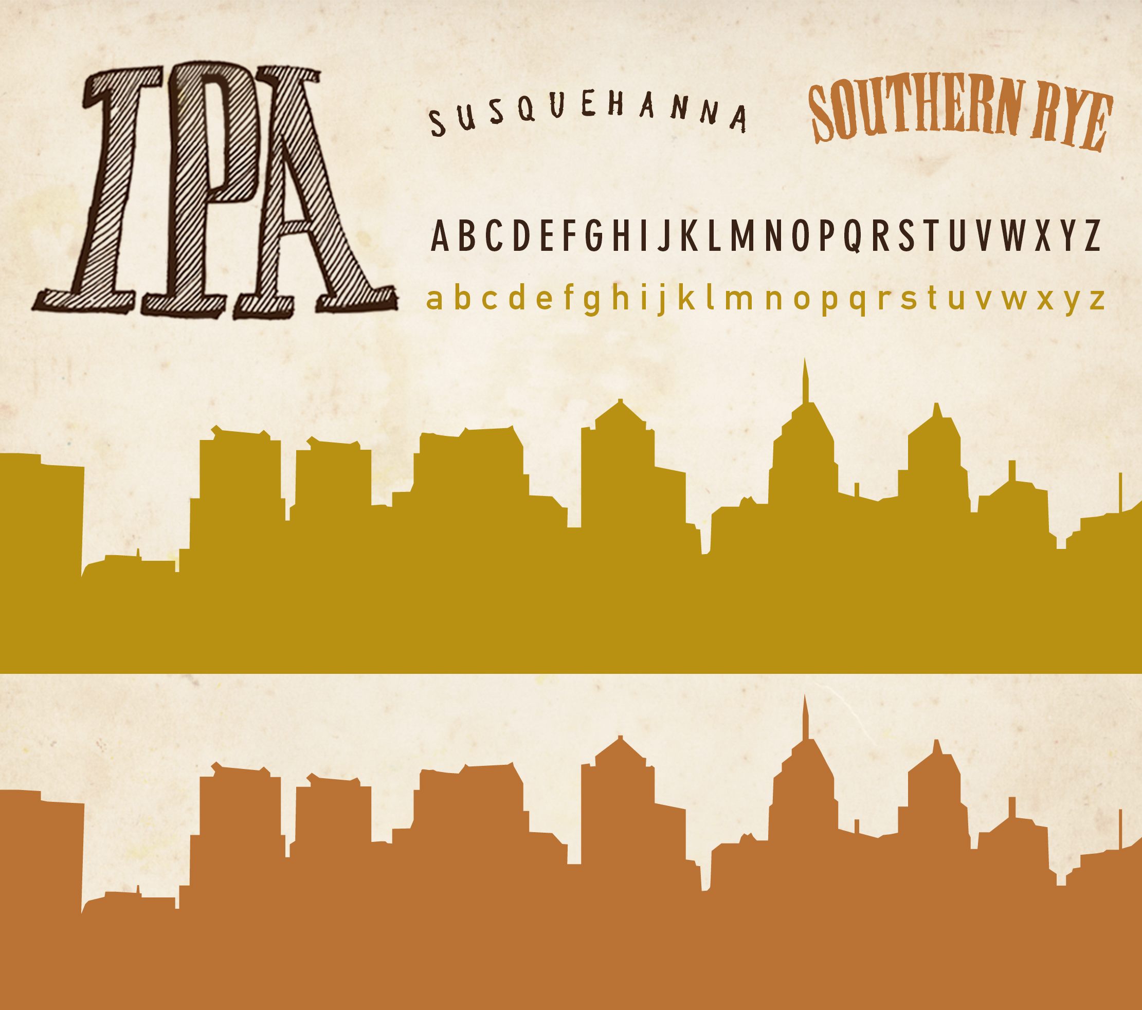 Susquehanna Brewing Co Southern Rye IPA Branding by Just Make Things