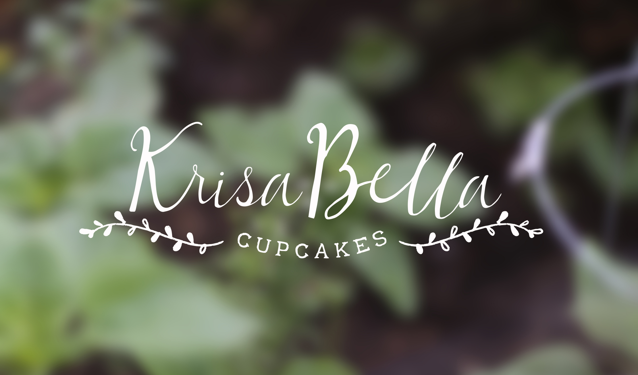 Krisa Bella Cupcakes Branding by Just Make Things